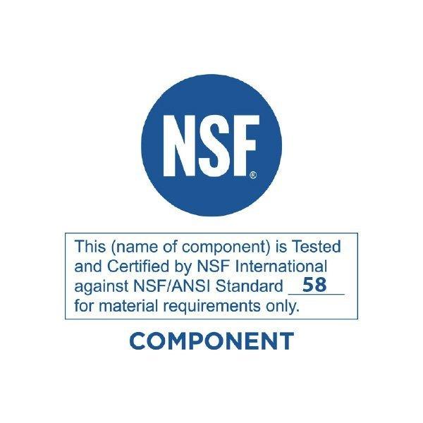 NSF Certificate