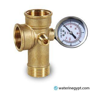 نحاسة وعداد موتور مياه ايطالى