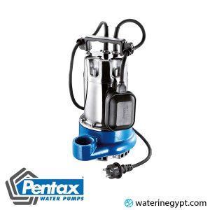 مضخة مياه غاطسة بنتكس ايطالي ساقية نحاس Pentax